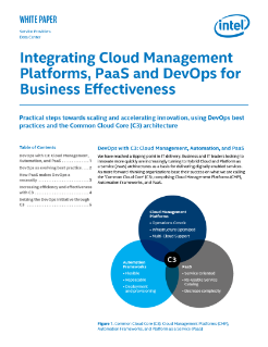 Business Effectiveness with DevOps and Cloud