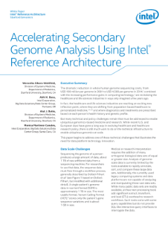 Accelerating Genome Analysis Using Intel® Reference Architecture