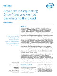 Advances in Sequencing Drive Plant and Animal Genomics to the Cloud