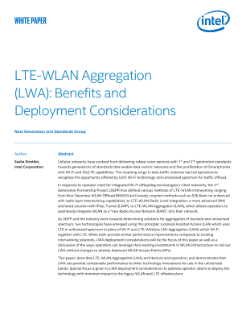 LTE-WLAN Aggregation (LWA): Benefits and Deployment Considerations