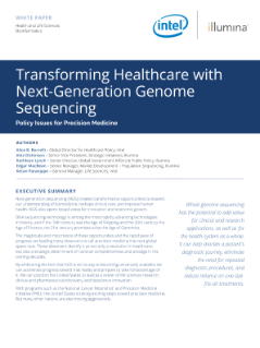 Transforming Healthcare with Next-Generation Genome Sequencing