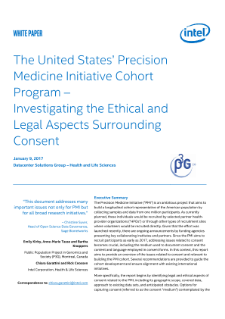 Ethical & Legal Aspects of Consent in Precision Medicine Research