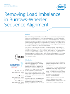 Removing Load Imbalance in Burrows-Wheeler DNA Sequence Alignment