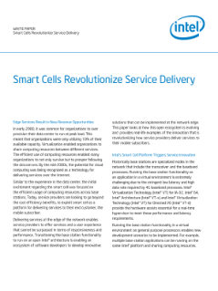 Network Edge Solutions Revolutionize Mobile Services