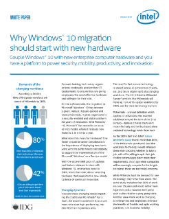 Intel Windows* 10 Migration on New Hardware