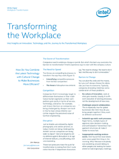 Transforming Workplace of the Future with Company Culture