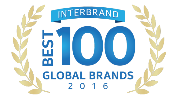 Interbrand Best 100 Global Brands 2016