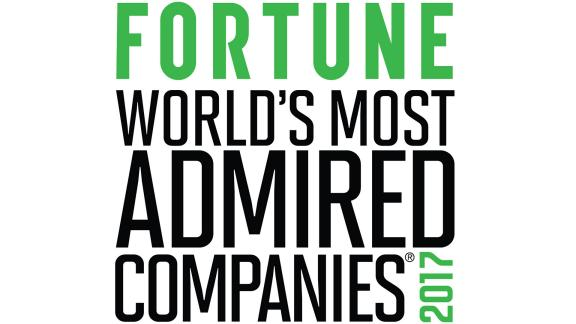 50 World's Most Admired Companies Fortune Magazine 2016
