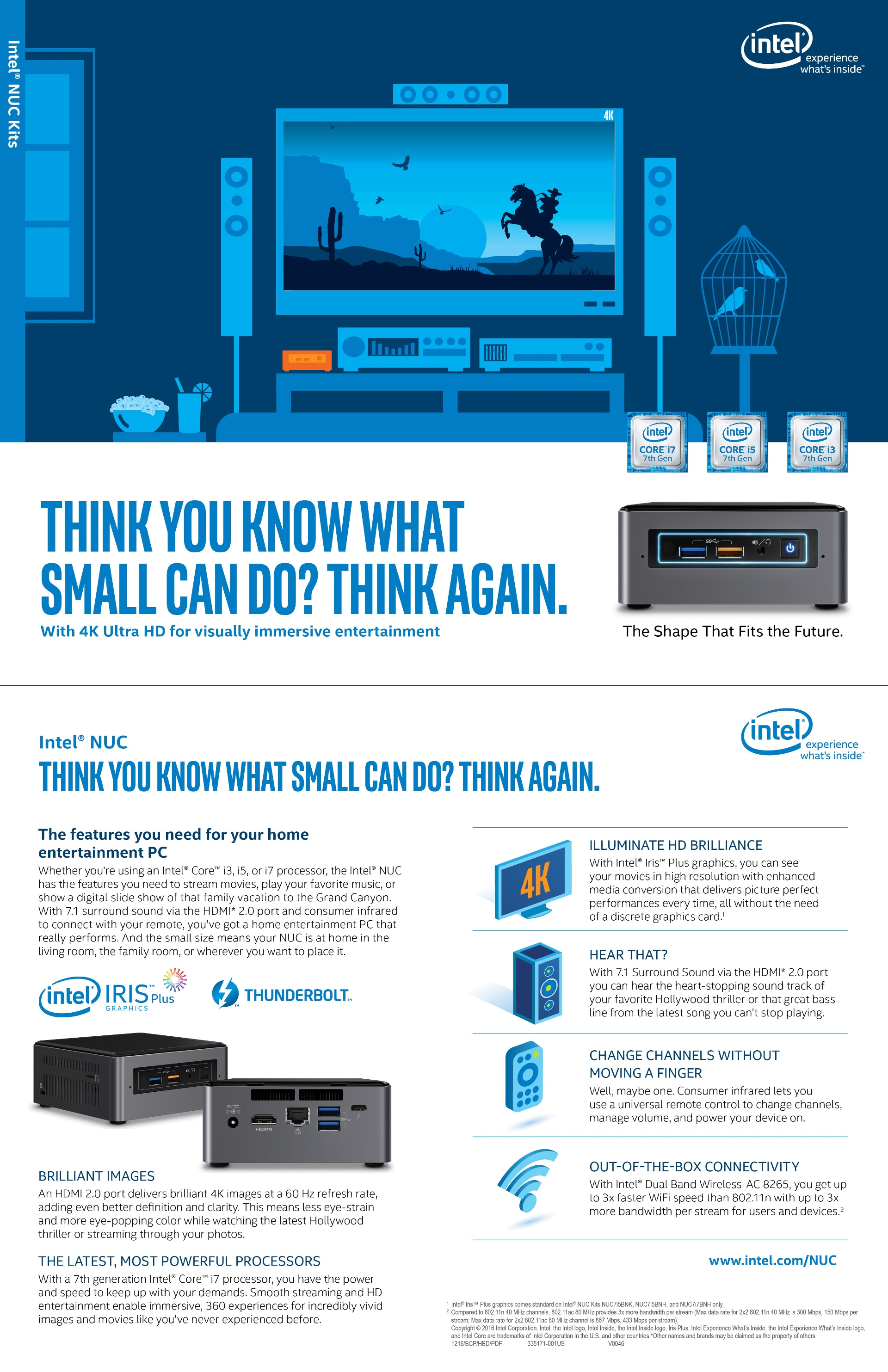 Discover Home Entertainment with Intel® NUC