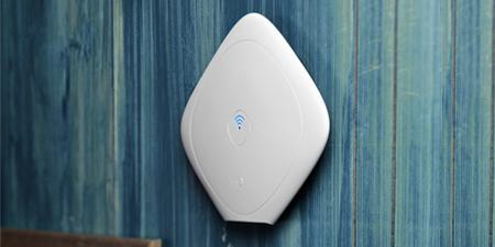 Content access point on a wall