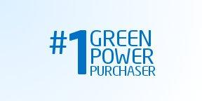 #1 Green Power Purchaser