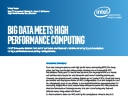 Intel® Enterprise Edition for Lustre software and Hadoop bring big data analytics to high performance computing