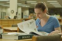Elisabeth Ashmore reading biology books