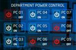 Department power control monitor