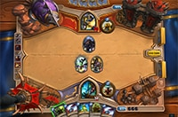 Hearthstone* gameboard