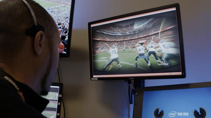 Intel® True View - Intel in Sports