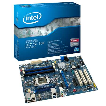 New Drivers: Intel DZ77SL-50K Express