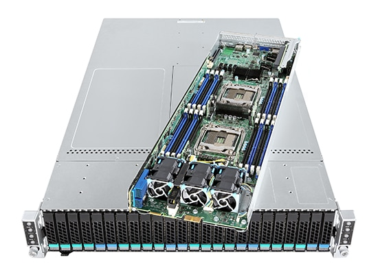 Chassis Intel® H2224XXLR2 per server