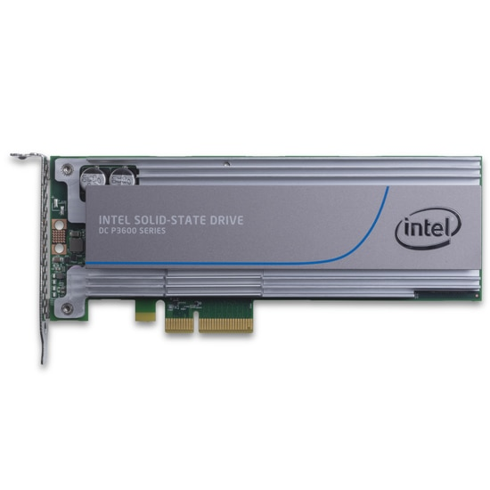 SSD Intel® DC serie P3600 (800 GB, PCIe de media altura 3.0, 20 nm, MLC)