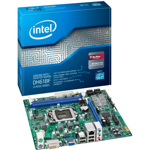 Intel® Desktop Board DH61BF