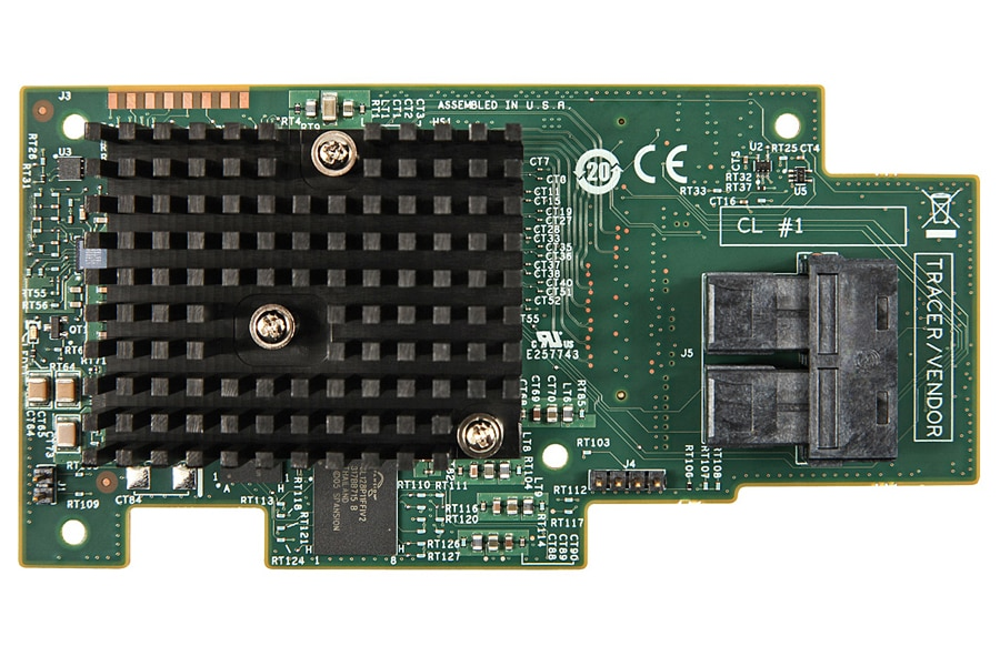 Módulo RAID Intel® RMS3CC080 integrado