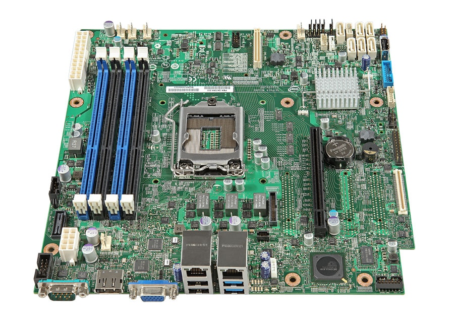 Intel S1200V3RPO Server Board EFI New
