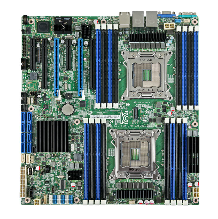 Familia de boards Intel® S2600CO para servidores