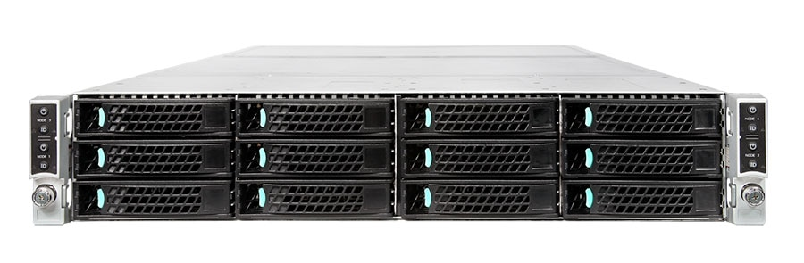Chassis Intel® H2312XXKR per server