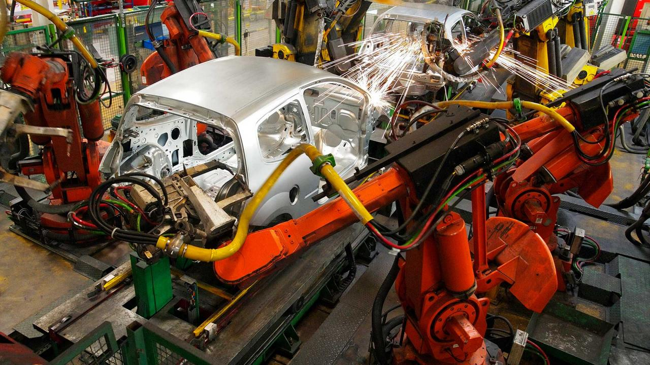 Smart manufacturing 4 0 intel