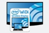 Built-in Wireless Display (WiDi)