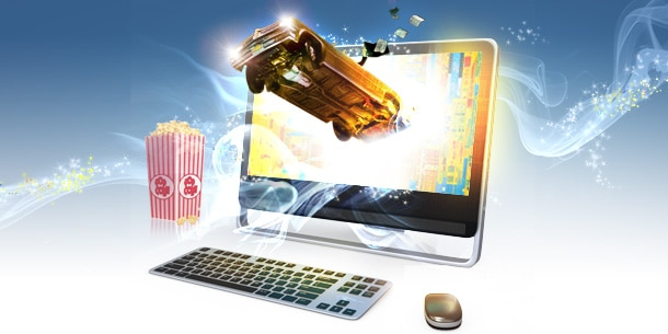 All-in-one pc's Rich multimedia