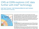 CMS at CERN explores LHC data further with Intel® technology