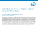 Unleashing the Power of Precision Medicine Using the Hybrid Cloud