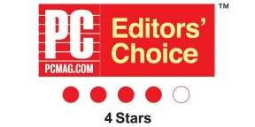 PCMag.com Editors' Choice 4 Stars