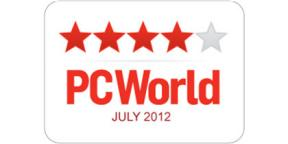 4 Stars PC World July 2012