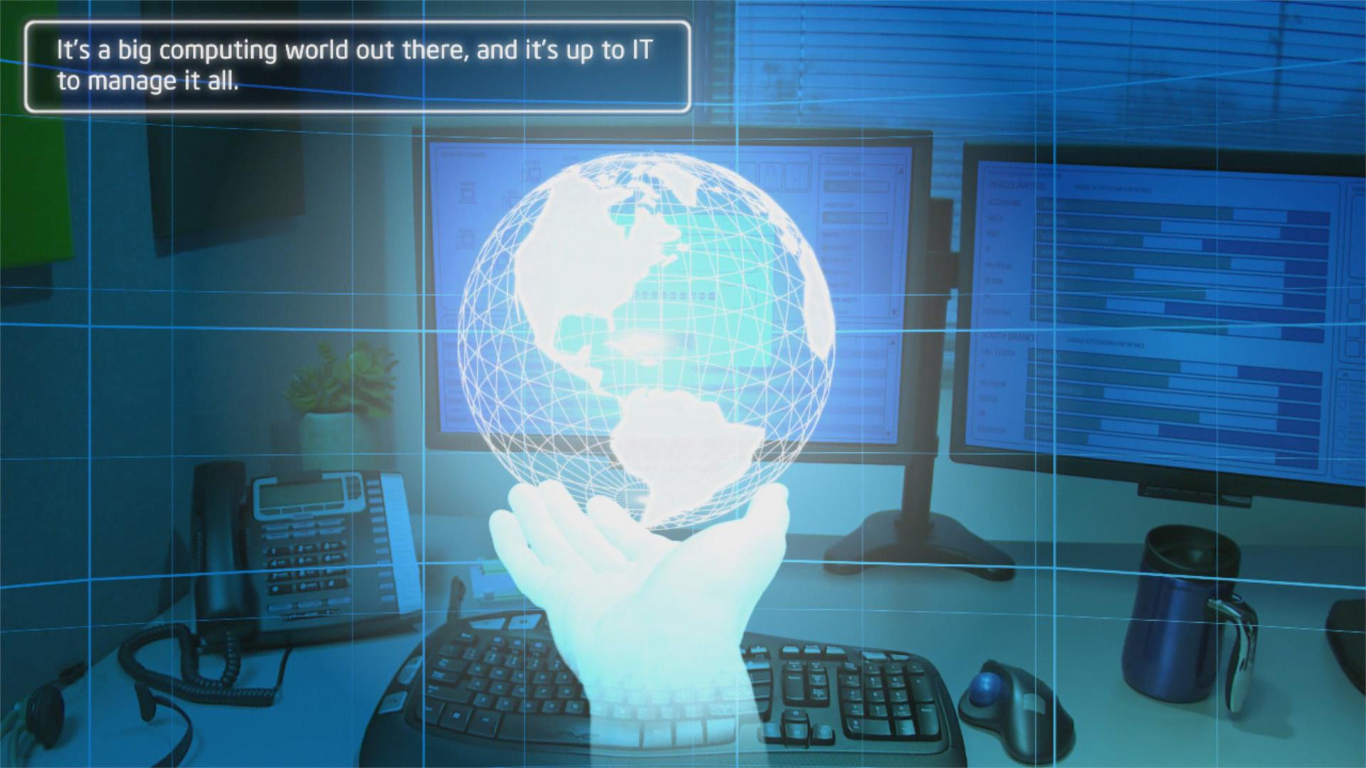 Client Productivity: Intel® vPro™ Technology Usage Animation