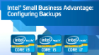 How to Configure Backups in Intel® SBA