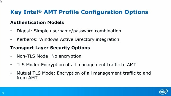Intel® Setup and Configuration Software Overview