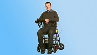Walker-Wheelchair Hybrid Helps Slow Degeneration