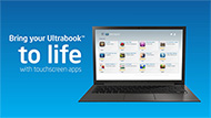 Intel AppUp® Center and Touchscreen Ultrabook™
