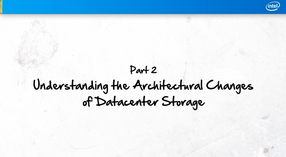 Part 2: Understanding the Architectural Changes of Data Center Storage