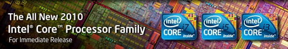 Intel Unveils All New 2010 Intel(R) Core(TM) Processor Family