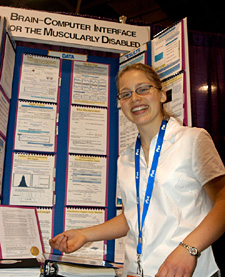 Intel Science Fair >> Photos -- Intel Science and Engineering Fair 2003