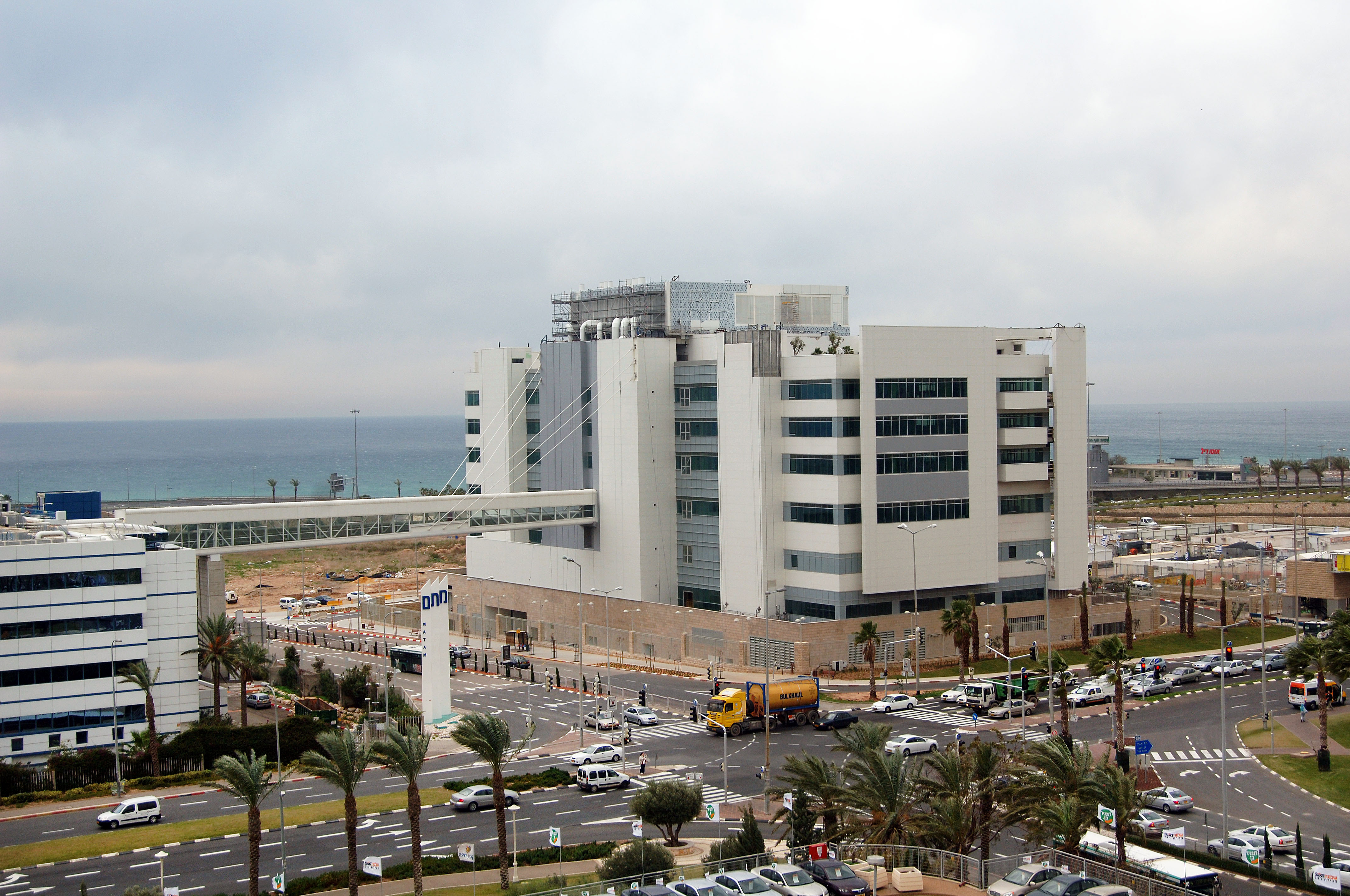 Intel Haifa Design Center is built with a sustainable design