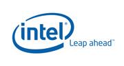 Intel® logo with tagline