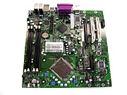 Intel microBTX reference design motherboard