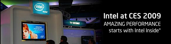 Intel at the Consumer Electronics Show (CES) 2008