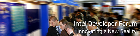 Intel Developer Forum - Innovating a New Reality