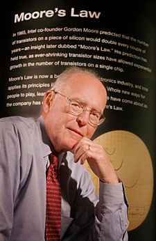 Gordon E. Moore, Co-founder, Intel Corporation.