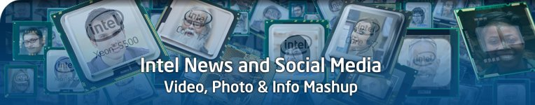 Intel News and Social Media